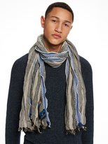 Scotch & Soda Cotton-Linen Scarf