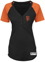 Profile Women's San Francisco Giants League Diva Plus Size T-Shirt