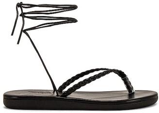 Ancient Greek Sandals Plage Lace Up Sandal