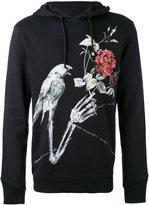 Just Cavalli bird print hoodie