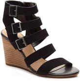 Crown Vintage Women's Serena Wedge Sandal -Black