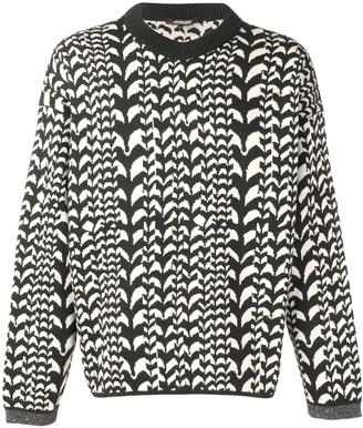 Roberto Cavalli patterned jumper