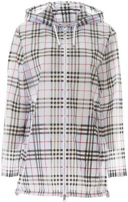Burberry Pvc Vintage Check Raincoat
