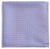Saks Fifth Avenue Scissors-Print Silk Pocket Square