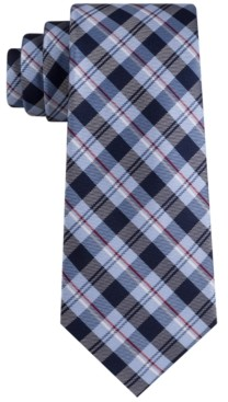 Tommy Hilfiger Men's Classic Plaid Tie