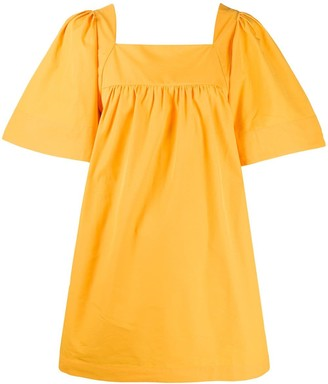 Three Graces Sofia wide-sleeve mini dress