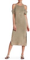 Anama Cutout Off-The-Shoulder T-Shirt Dress
