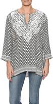 Gretchen Scott Tribal In Mist Tunic