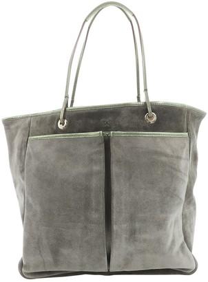 Anya Hindmarch Khaki Suede Handbags