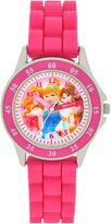 Character Girls Pink Strap Watch-Pn1078jc