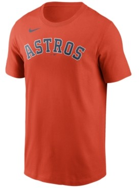 Nike Houston Astros Men's Swoosh Wordmark T-Shirt