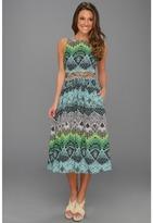 Mara Hoffman Lattice Waist Dress (DSB) - Apparel