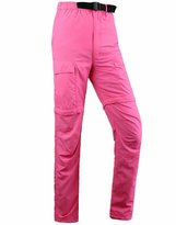 Spinty Womens Outdoor Sports Quick Drying Waterproof Casual Pants