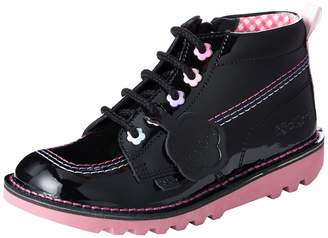 Kickers Girls' Kick Hi Fleur Ankle Boots
