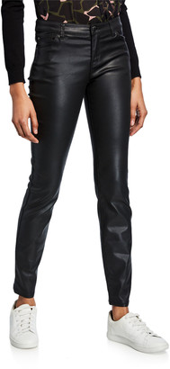 Emporio Armani Waxed 5-Pocket Skinny Jeans