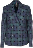 Paul Smith Checked Double Breasted Blazer