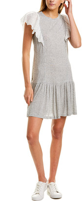 Rebecca Taylor Livy Eyelet-Trim Shift Dress