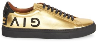 Givenchy Urban Street Metallic Leather Sneakers
