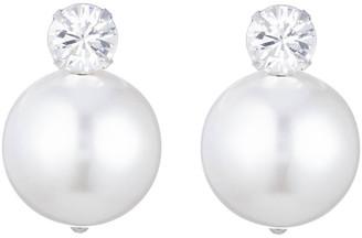 Dannijo Erin Pearly Stud Earrings
