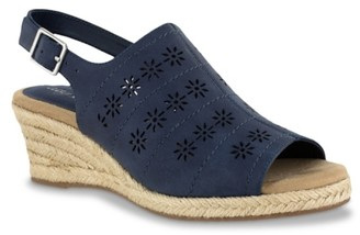 Easy Street Shoes Joann Espadrille Wedge Sandal