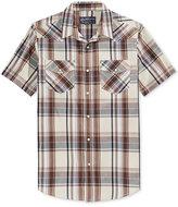 American Rag Men's Plaid Short-Sleeve Shirt, Only at Macy's