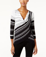 INC International Concepts Cowl-Neck Layered Sweater, Only at Macy's