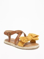 Old Navy Bow-Tie Sandals for Toddler Girls