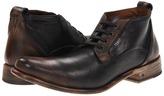 John Varvatos Bowery Etched Chukka (Black Sand) - Footwear