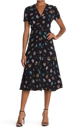 Diane von Furstenberg Cecilia Summer Printed Midi Dress