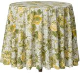 April Cornell Tea-Rose Round Tablecloth