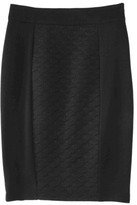 Mossimo Women's Quilted Pencil Skirt -Black