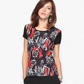 Anne Weyburn Soft Printed T-Shirt