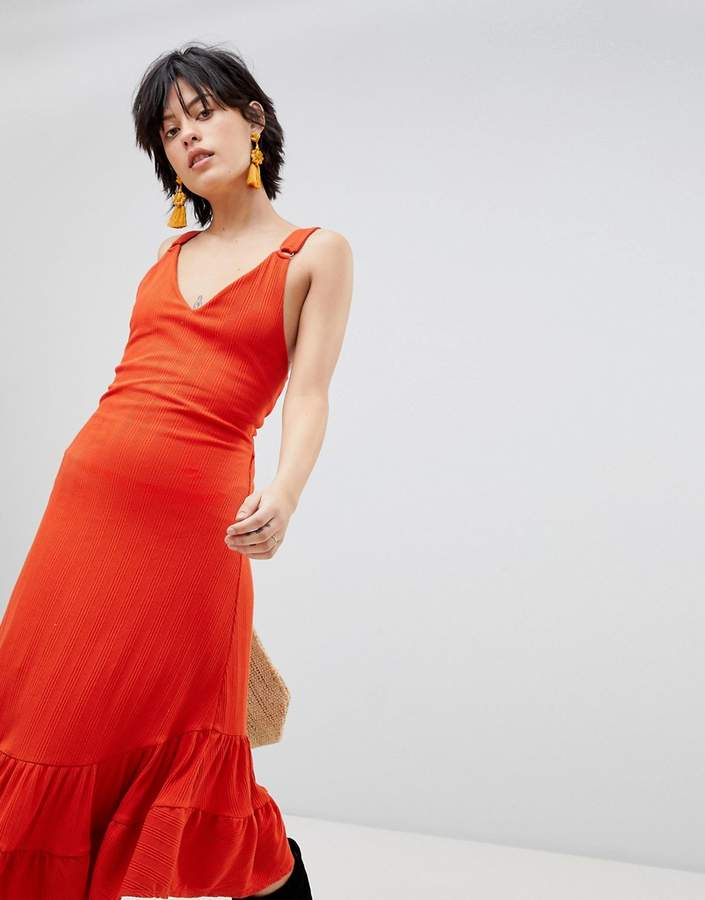 b60a03de821 Free People Red Maxi Dresses - ShopStyle UK