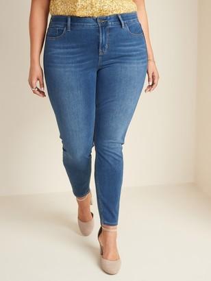 Old Navy High-Rise Plus-Size Secret-Slim Pockets + Waistband 24/7 Sculpt Rockstar Jeans