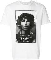 Neil Barrett Jimi Morrison print T-shirt