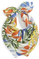 Sole Society Women's Tropical Print Bandana