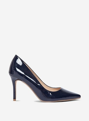 Dorothy Perkins Womens Navy 'Dele' Court Shoes