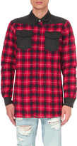 Off-White Quilted wool-flannel shirt
