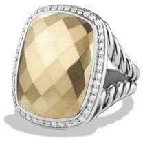 David Yurman Albion® Ring With Diamonds And 18K Gold
