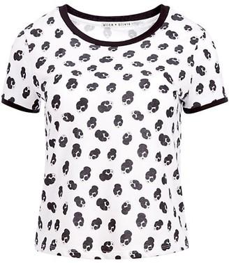 Alice + Olivia Rylyn Short Ringer T-Shirt