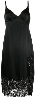 MICHAEL Michael Kors sequin embellished slip dress