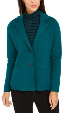 Charter Club Sweater Blazer Jacket, Created for Macy's