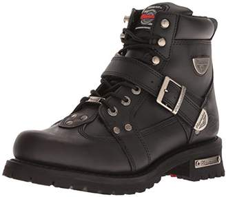 Milwaukee Motorcycle Clothing Company Road Captain Leather Women's Motorcycle Boots (