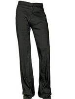 Gareth Pugh Linen Gazar Wide Leg Trousers