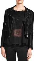 The Kooples Cruz Leather Moto Jacket