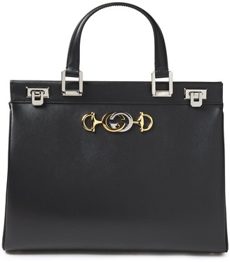 Gucci Zumi Embellished Leather Tote