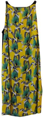Proenza Schouler Yellow Silk Dresses