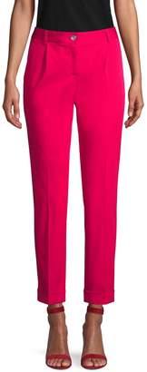 Dolce & Gabbana Folded Cuff Ankle Pants