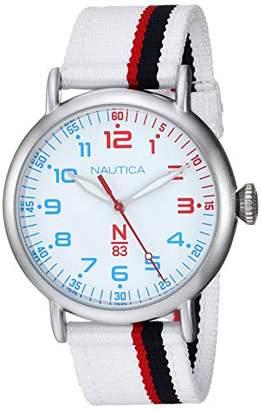 Nautica N83 Men's NAPWLS908 Wakeland Fabric Strap Watch