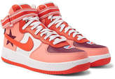 Nike Riccardo Tisci Air Force 1 Leather High-Top Sneakers